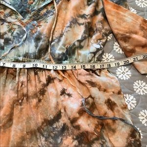 Lucky Brand Tops - Lucky Brand Tie Die Long Sleeve Tunic Top